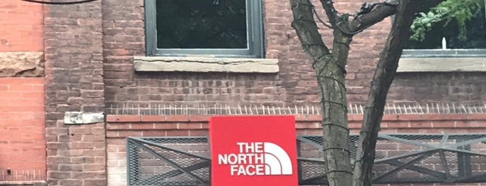 The North Face is one of Shop #BTV.