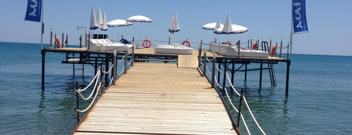 Mai Tai Beach Club is one of Yerler - Antalya.