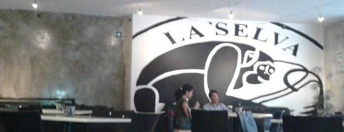 Café La Selva is one of Donde comer sin carne..