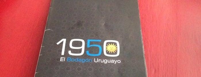 1950 El Bodegón Uruguayo is one of Restaurantes.
