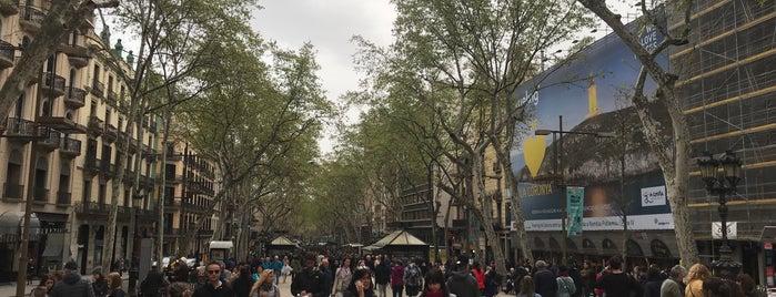 Las Ramblas is one of Barcelona.