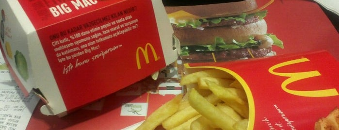 McDonald's is one of İstanbul 2.