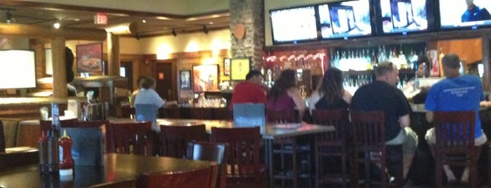 Smokey Bones Bar & Fire Grill is one of Local Redskins Rally Bars.