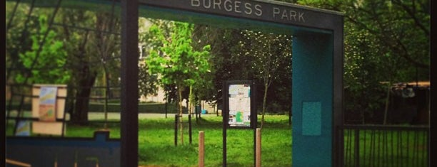 Burgess Park is one of Camberwell.