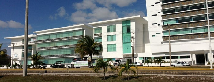 Hospital Galenia is one of Mexico // Cancun.
