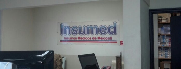 Insumed is one of Descuentos con IDENTIDAD-UABC.