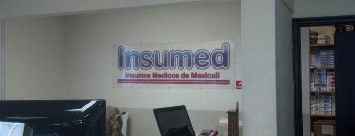 Insumed is one of Descuentos con IDENTIDAD-UABC.