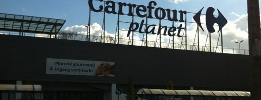Carrefour hypermarché is one of Shopping in Brussels.