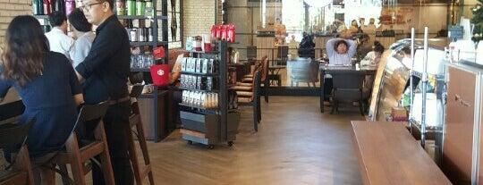 Starbucks is one of Bangkok.