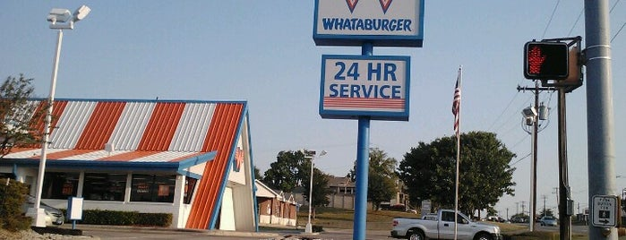 Whataburger is one of SARA! MICHELLE! TEXAS! All good things here...