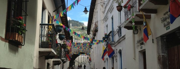 La Ronda is one of Things To Do In Ecuador.
