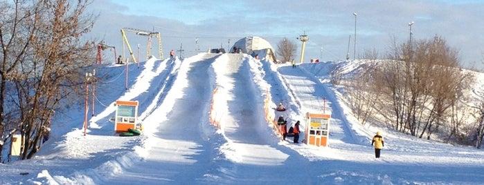 Спортивно-экологический комплекс «Лата Трэк» is one of Склоны.