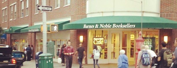 Barnes & Noble is one of Bookworm Badge.