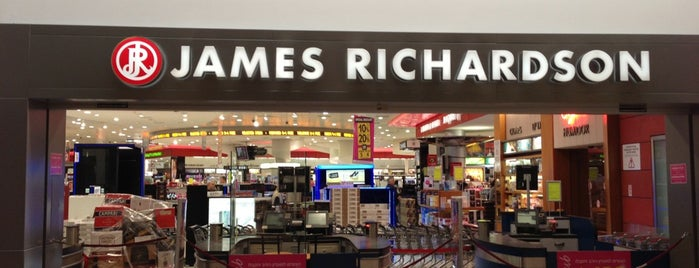 James Richardson Duty Free is one of Israel 👮.
