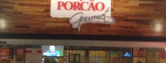 Porcão Gourmet is one of Lugares bons para tortas.
