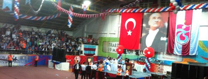 19 Mayıs Kapalı Spor Salonu is one of BORDO MAVİ MEKANLAR.