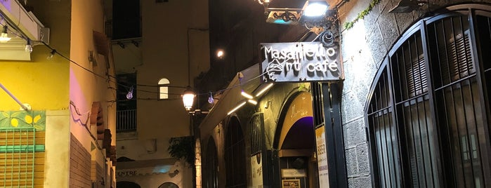 Masaniello Art Café is one of Italy.