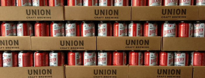 Union Craft Brewing is one of Baltimore.