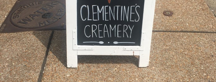Clementine's Creamery is one of The 15 Best Places for Desserts in St Louis.