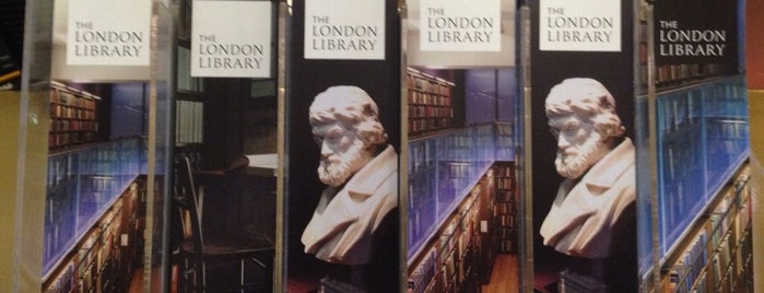The London Library is one of London, UK (attractions).