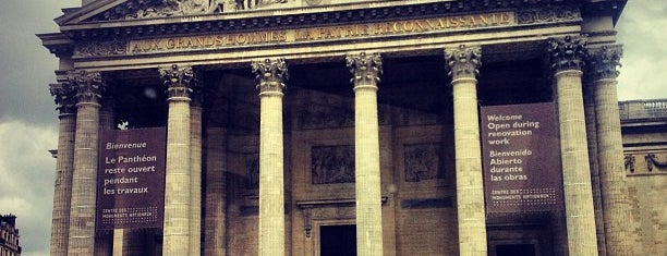 Panthéon is one of Place to visit in Paris.