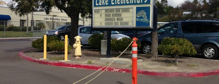 Lake Elementary School is one of Frequent stops.