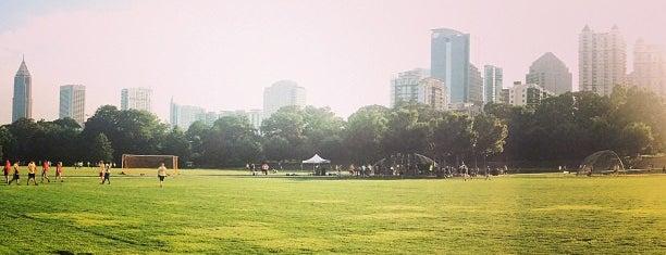 Piedmont Park is one of Thrillist's Best Day of Your Life: Atlanta.