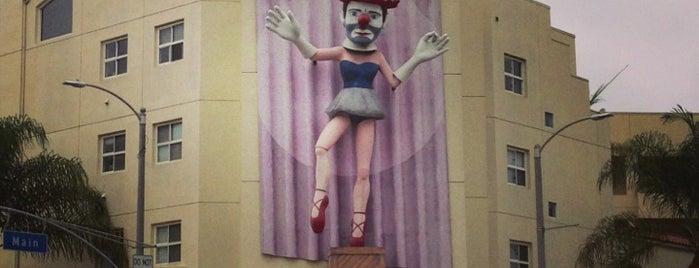 Scary Ballerina Clown is one of Nikki Kreuzer's Offbeat L.A..