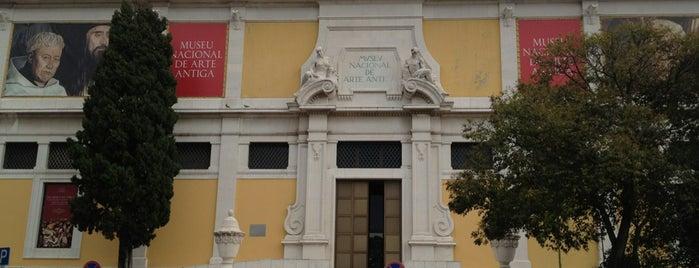 Museu Nacional de Arte Antiga is one of Lisboa.