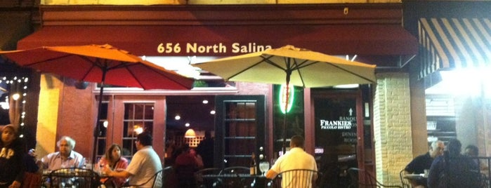 Frankie's Piccolo Bistro is one of Syracuse's Northside Guide.