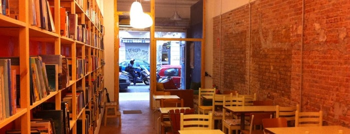 Babèlia Books & Coffee is one of The 15 Best Cozy Places in Barcelona.