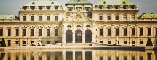 Oberes Belvedere is one of Food & Fun - Vienna, Graz & Salzburg.