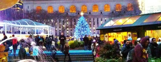 The Holiday Shops at Bryant Park is one of Tourist attractions NYC.
