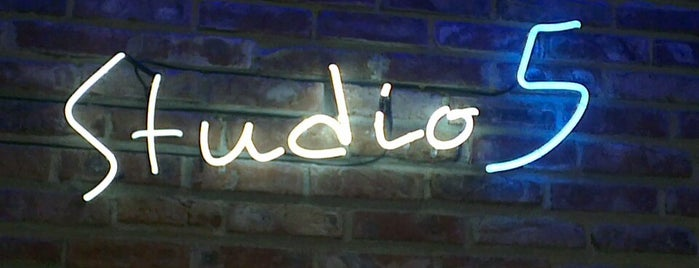 Studio 5 is one of My Sofia Guide for cool places.