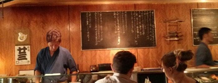 Teppo Yakitori & Sushi Bar is one of US TRAVEL DALLAS.