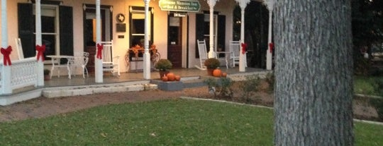 Gruene Mansion Inn is one of Historic Hotels to Visit.