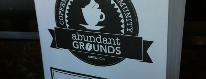 Abundant Grounds Coffee is one of The Chad.