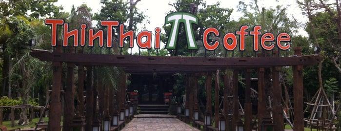 ThinThai Coffee is one of ลำพูน, ลำปาง, แพร่, น่าน, อุตรดิตถ์.