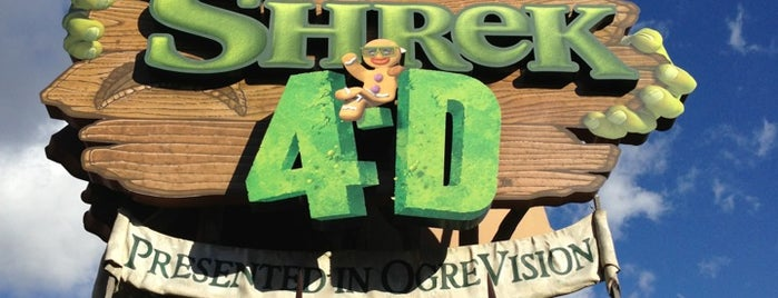 Shrek 4-D is one of Must-visit Arts & Entertainment in Universal City.