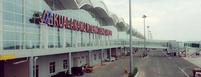 Kualanamu International Airport (KNO) is one of Transportasi & Akomodasi.