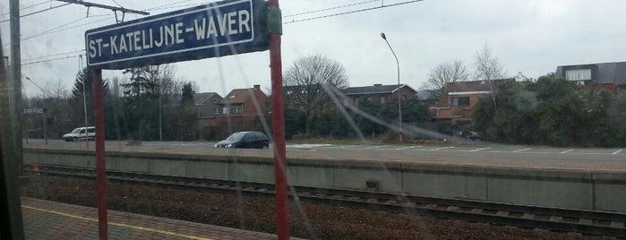 Station Sint-Katelijne-Waver is one of Bijna alle treinstations in Vlaanderen.