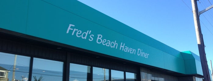 Freds Beach Haven Diner is one of Diners I want to go.