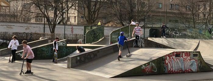 Skatepark Smíchoff is one of Brusle.