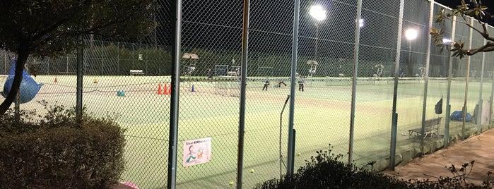 屋板運動場庭球場 is one of Tennis Court relates on me.