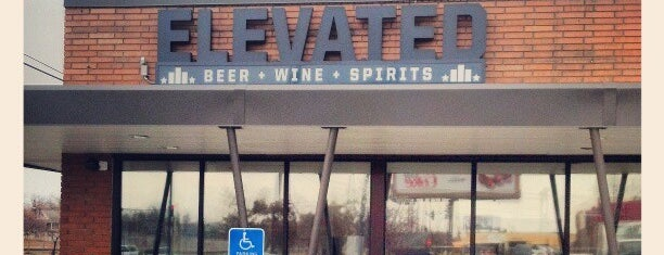 Elevated Beer + Wine + Spirits is one of The 15 Best Places with a Large Beer List in Minneapolis.