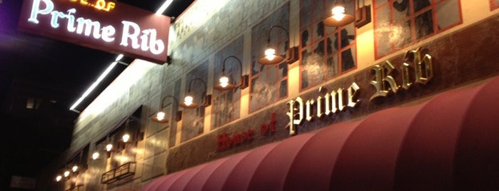 House of Prime Rib is one of Bruno goes to SF.
