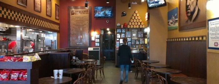 Corleone's is one of 20 favorite restaurants.