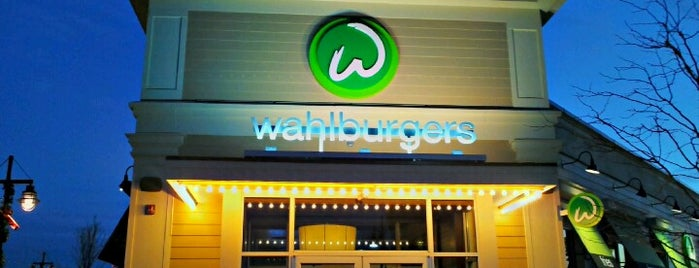 Wahlburgers is one of Out of Town.