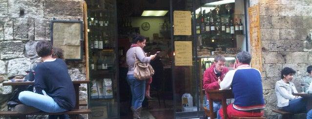 Gustavo - Bar Enoteca is one of San Gimignano.