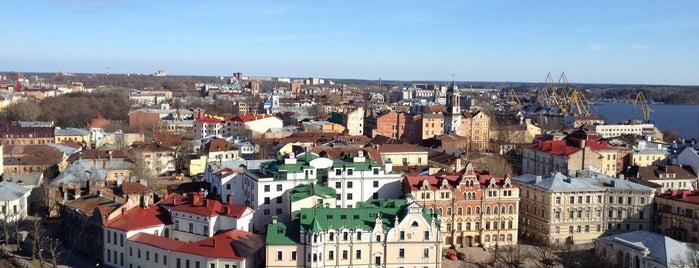 Выборг is one of Санкт-Петербург.